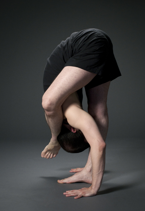 Adam Dobbs - Foot behind head standing forward bend